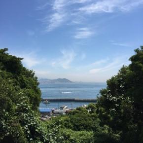 自転車で淡路島に。